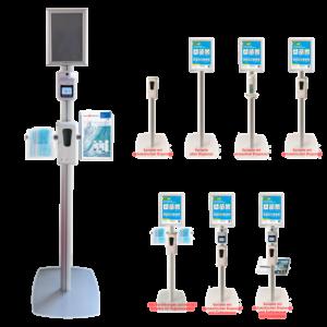 Hygieneständer individuell konfigurierbar
